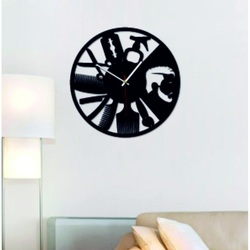 Fali órák plexiből. design falióra. Termelés DIY falióra
